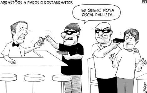 arrastões_sao paulo_charge
