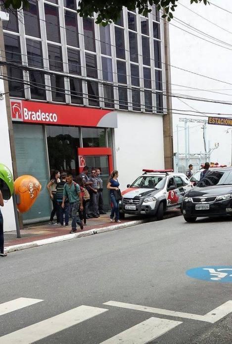ASSALTO A BANCO NO CENTRO DE SÃO CAETANO