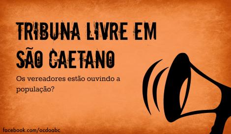 TRIBUNA LIVRE EM SÃO CAETANO