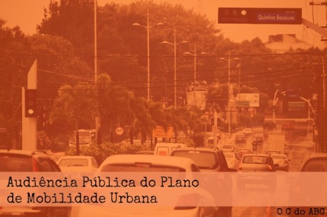 AUDIÊNCIA PÚBLICA DO PLANO DE MOBILIDADE URBANA ACONTECE HOJE